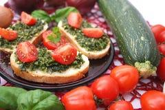 Fresh snack Stock Image