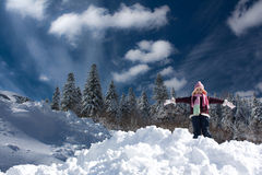 Fresh Snow Stock Images