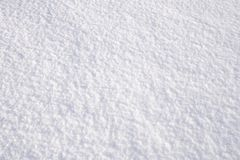 Fresh Snow Royalty Free Stock Photography