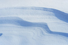 Fresh snow as background Royalty Free Stock Photography