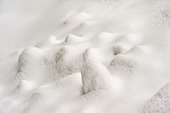 Fresh snow cover at winter. Abstract background of snow with texture Royalty Free Stock Photo