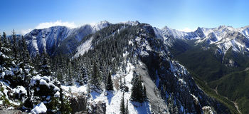 Fresh Snow in the mountains Royalty Free Stock Image