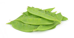 Fresh snow peas Stock Photos