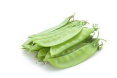 fresh snow peas Royalty Free Stock Image