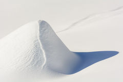 Fresh snow Royalty Free Stock Photography