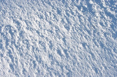 Fresh snow surface Stock Photography