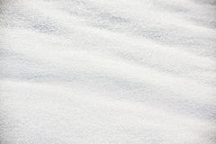 Fresh snowfall background Stock Images