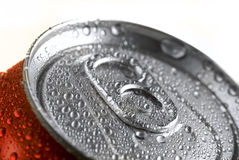 Fresh Soda Drink in Can Royalty Free Stock Photo