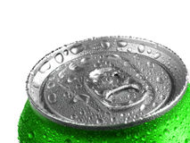 Fresh Soda Drink in Can Stock Photography