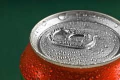 Fresh Soda Drink in Can Stock Images