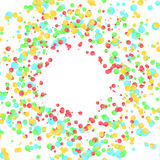 Fresh soft bright colors abstract merry background. Colorful par Royalty Free Stock Photography