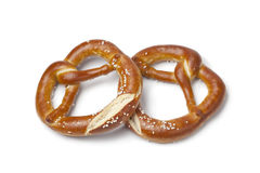 Fresh soft pretzels Royalty Free Stock Photos