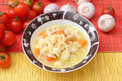 Fresh soup Stock Image