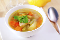 Fresh soup Royalty Free Stock Photos