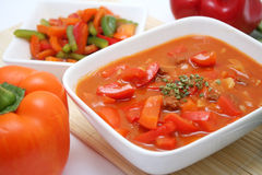 Fresh soup Stock Photography