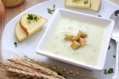 Fresh soup Stock Photo