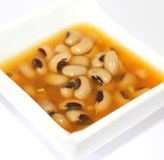 Fresh soup of beans Stock Photo