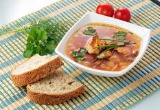 Fresh soup Stock Photos