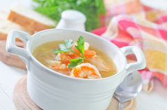 Fresh soup Stock Photos