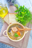 Fresh soup Royalty Free Stock Photography