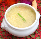 Fresh soup with noodles Royalty Free Stock Photography