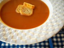 Fresh Soup - Stock Image Royalty Free Stock Photo