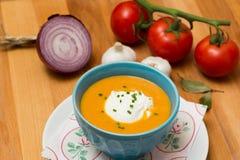 Fresh Soup - Stock Image Royalty Free Stock Photos