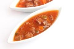 Fresh soup Stock Photography