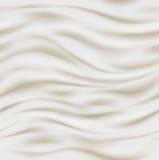 Fresh sour cream background Stock Photos