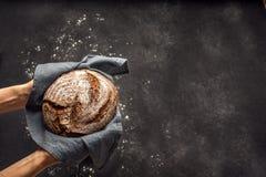 Free Fresh Sourdough Bread Stock Image - 183924451