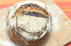 Fresh sourdough bread Royalty Free Stock Photo