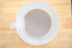 Fresh soy milk Royalty Free Stock Images