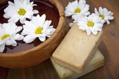 Fresh spa soap Stock Photo