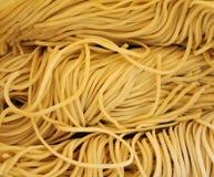 Fresh spaghetti Stock Image