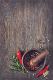 Fresh spices and herbs. Stock Photography