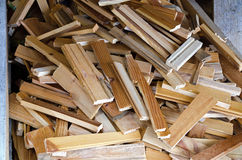 Fresh split kindling Stock Photography