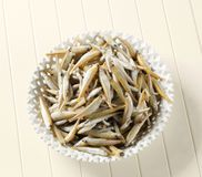 Fresh sprats Royalty Free Stock Image