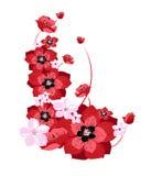 Fresh spring blossom. Illustration of lovely fresh blossom in spring stock illustration