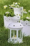 Fresh spring decorations for the First Communion Royalty Free Stock Photo