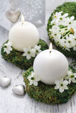 Fresh spring decorations for the First Communion, Stock Photos