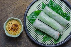 Fresh Spring Roll Royalty Free Stock Images