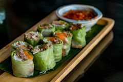 Fresh Spring roll Royalty Free Stock Image