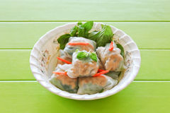 Fresh spring rolls. Royalty Free Stock Photos