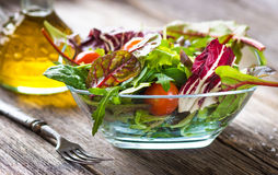 Fresh spring salad Stock Photo
