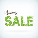 Fresh spring sale business background poster royalty free illustration