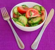 Fresh spring vegetable salad Royalty Free Stock Image