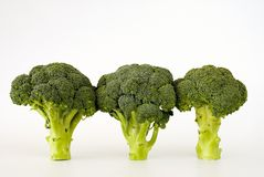 Fresh sprouting broccoli Royalty Free Stock Image