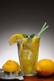 Fresh Squeezed Lemonade Stock Photo