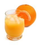 Fresh Squeezed Orange Juice Royalty Free Stock Photo