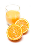 Fresh squeezed orange juice Stock Photo